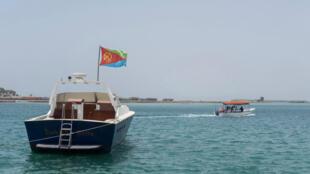 Des bateaux dans le port de Massawa en Érythrée.