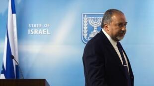 Avigdor Lieberman, ministro das Relações Exteriores de Israel, um dos principais suspeitos do escândalo de corrupção em seu país.