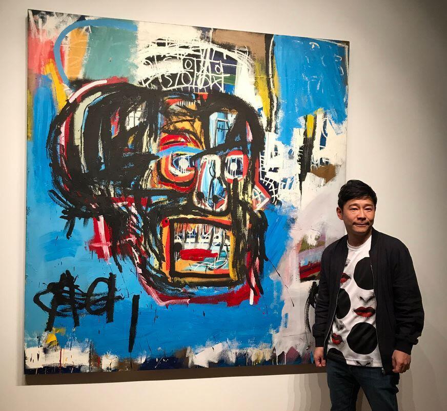 El magnate japonés Yusaku Maezawa adquirió una pintura de Jean-Michel Basquiat por de US$ 110,5 millones.