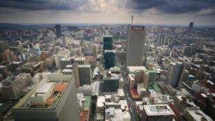Vue de Johannesburg.