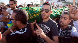 Funeral de Mouhcine Fikri, no domingo passado