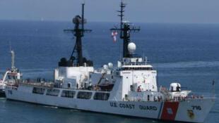 Một tàu tuần tra loại Hamilton của Hải quân Hoa Kỳ.