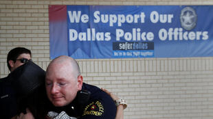 Cuartel general de la policía de Dallas, el 10 de julio de 2016.