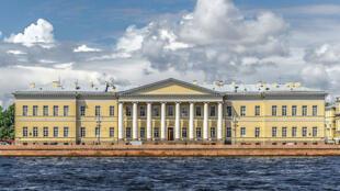 L'académie impériale des sciences de Saint-Pétersbourg, filiale de l'académie des sciences de Russie.