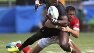 L'équipe de rugby à 7 kényane a perdu ses deux premiers matches face à la Grande-Bretagne et la Nouvelle-Zélande.