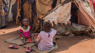 Des déplacés dans un camp à Wau, dans le Soudan du Sud, le 4 août 2017.
