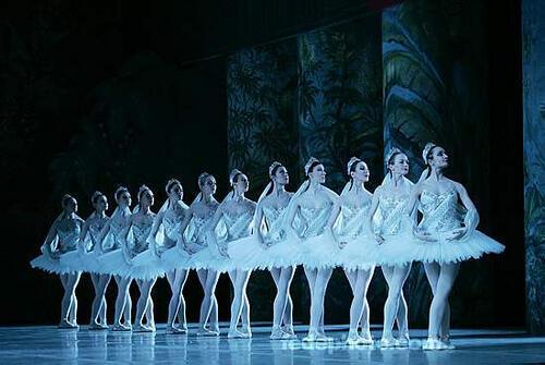 La Bayadère, Balé da Ópera Nacional de Paris,  2 de março de 2006.