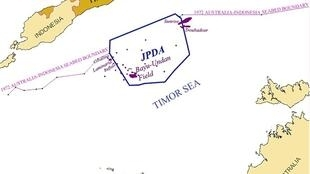 Maritime boundaries East Timor