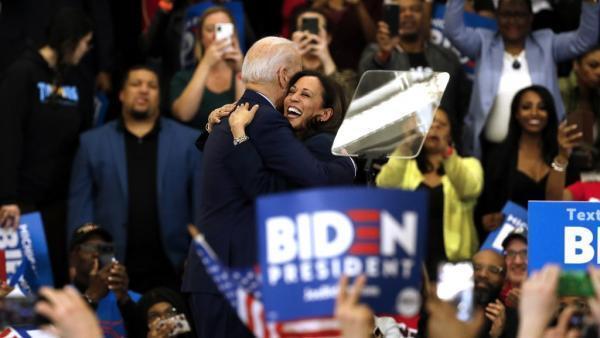 Le nom de Kamala Harris circule pour figurer sur le ticket démocrate comme candidate à la vice-présidence. Elle a apporté son soutien à Joe Biden après avoir abandonné la course.
