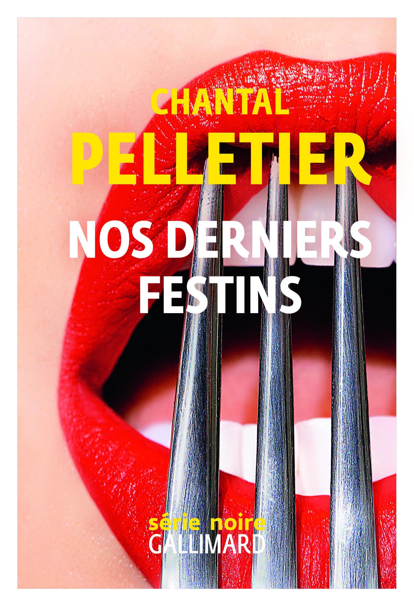 Couverture du nouveau roman de Chantal Pelletier