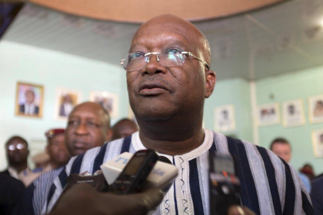 Le président du Burkina Faso, Roch Marc Kaboré.
