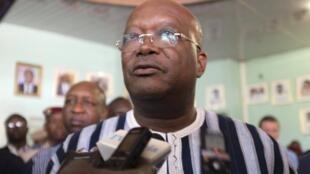 Le président du Burkina Faso, Roch Marc Kaboré (photo), cède à la place à Salifou Diallo à la tête du MPP.