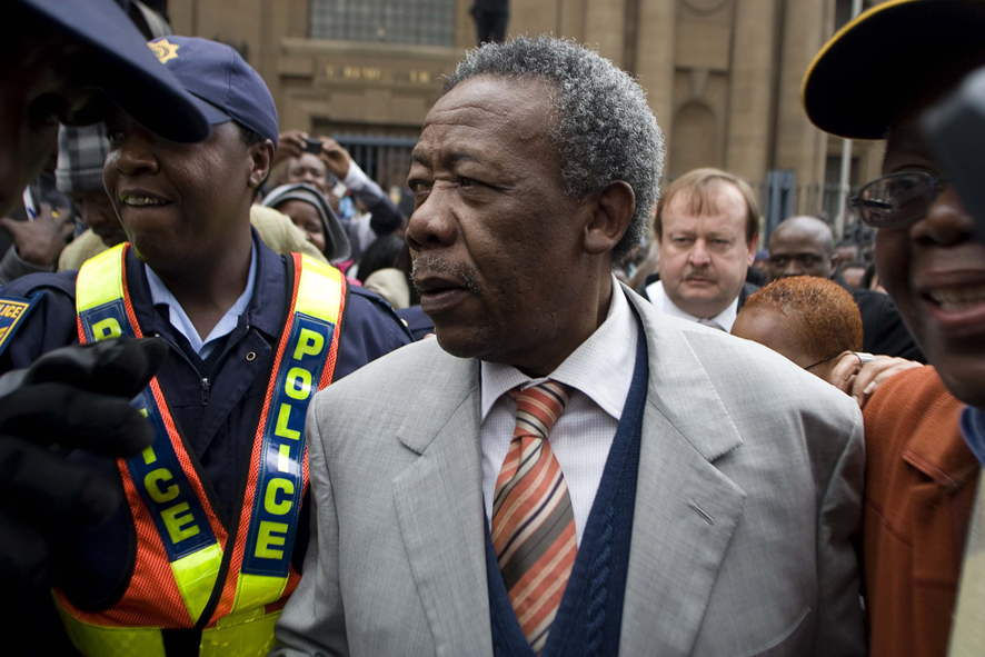 Jackie Selebi at the court in Johannesburg