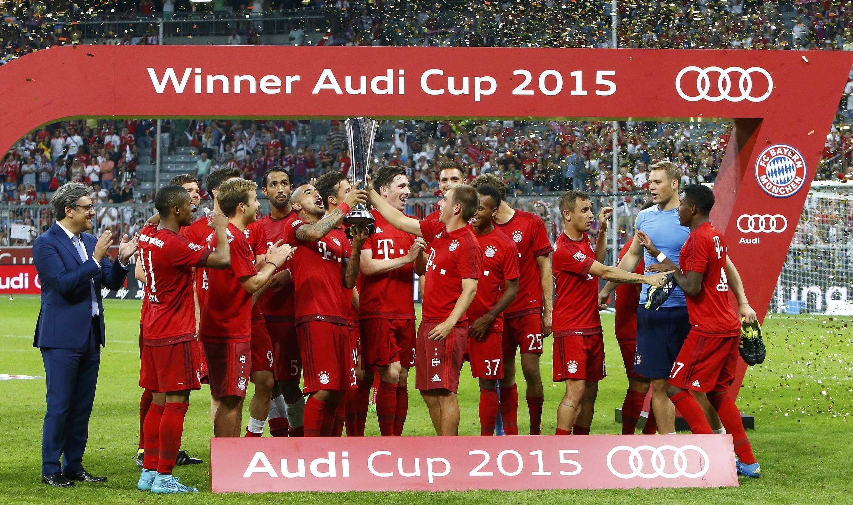 Kikosi cha wachezaji wa Bayern Munich, Ogasti 5, 2015