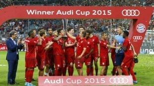 Bayern Munich ta doke Real Madrid a gasar lashe kofin Audi a Jamus