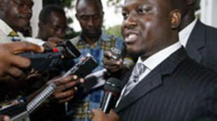 Côte d'Ivoire's Prime Minister Guillaume Soro