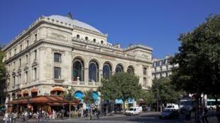 Le théâtre du Chatelet à Paris, France.