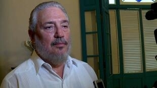 """""""Fidelito"""", filho mais velho do falecido presidente cubano Fidel Castro, se suicidou aos 68 anos."""