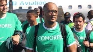Le sélectionneur des Comores Amir Abdou.