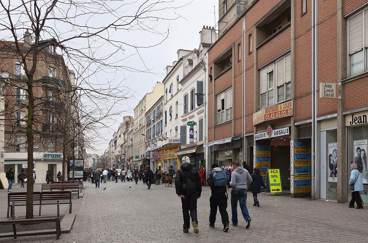Calle Gabriel Péri, en Saint-Denis.