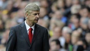 Arsène Wenger, l'entraîneur d'Arsenal.