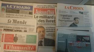 A lei El Khomri e o Super Tuesday foram os destaques de hoje.