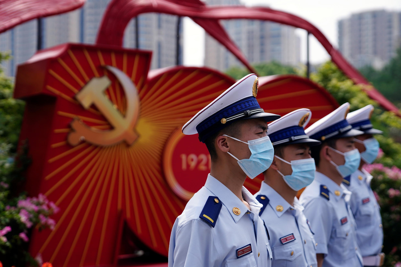 中國上海街頭