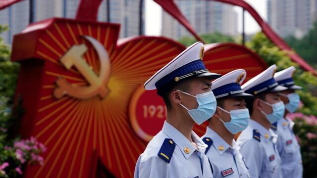 中共建党百年活动 境外记者不能临时进京采访(photo:RFI)