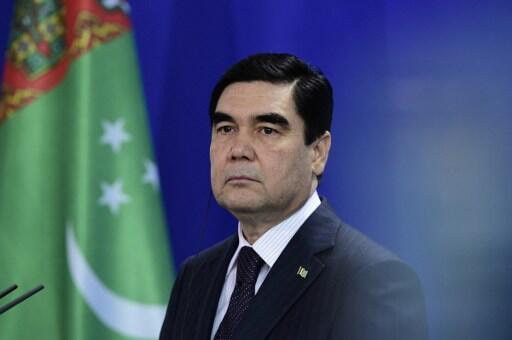 Le président Gourbangouly Berdymoukhamedov (ici le 29 août 2016 à Berlin).