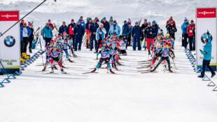 Первый этап биатлонного сезона проходит в словенской Поклюке