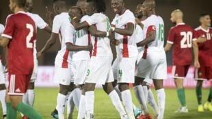 Les Étalons du Burkina lors d'un match amical face au Maroc. (Illustration)