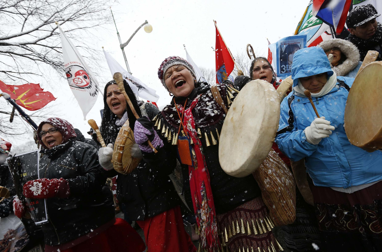 Image RFI Archive - amérindien - Canada