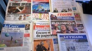 Diários franceses 01/06/2015