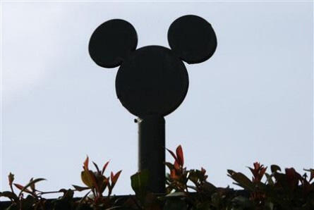Mickey Mouse na Eurodisney.