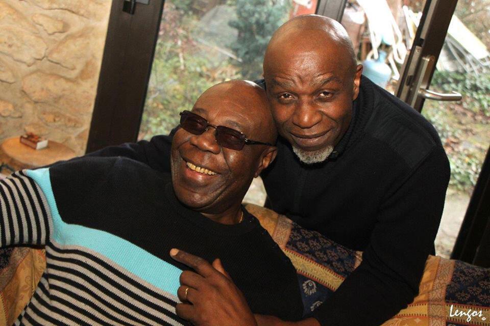 Ray Lema et Manu Dibango.