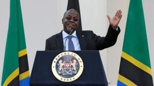 """Le président tanzanien john Magufuli st surnommé le """"bulldozer"""" (image d'illustration)"""