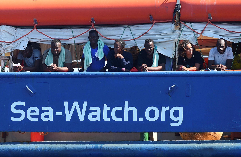 Les deux capitaines du Sea Watch 3,Carola Rackete et Pia Klemp, sont devenues le symbole du sauvetage des migrants en Méditerranée.