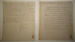 Napoleon's coded letter on the Russian campaign sells for 187,500 euros