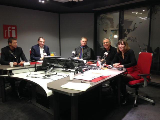 Yannick Jadot (EELV), Robert Rochefort (MODEM /ADLE), Philippe Juvin (UMP/PPE) et Christine Revault d'Allonnes Bonnefoy (PS).