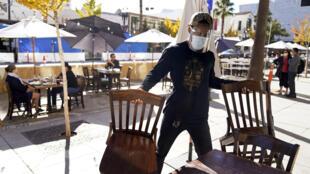 Etats-Unis - Los Angeles - Restauration