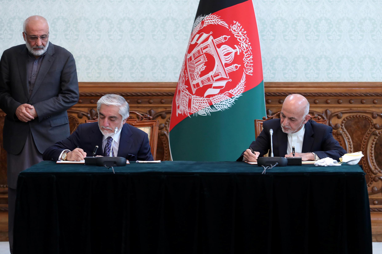 Assinatura de acordo político  no Afeganistão