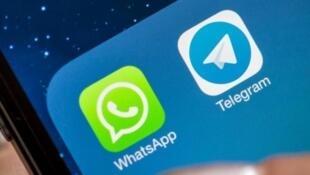 """در افغانستان به به دستور دولت اشرف غنی، """"تلگرام"""" و """"واتس اپ"""" فیلتر شدند."""