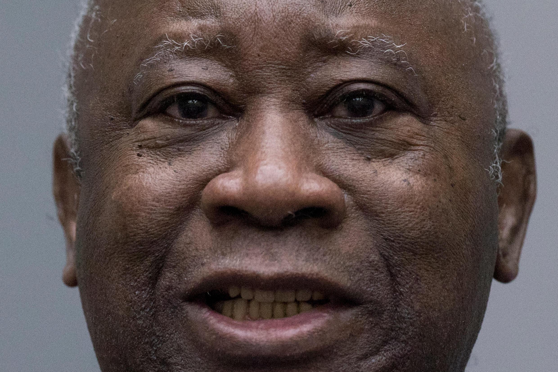 El ex presidente marfileño Laurent Gbagbo en la corte Corte Penal Internacional de La Haya, este 15 de enero 2019.