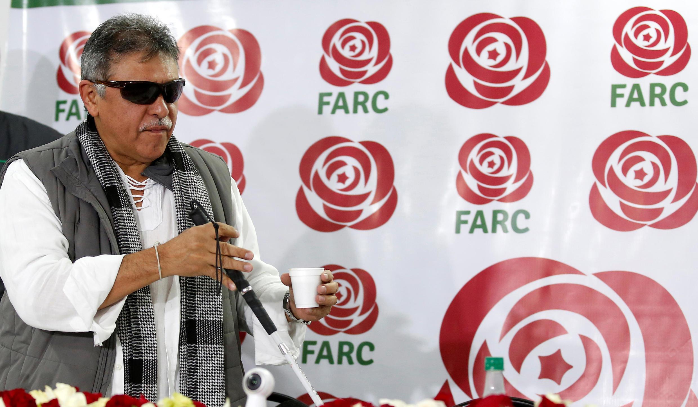 Jesus Santrich, ancien commandant des FARC en 2017.