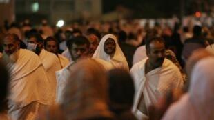 Pélerins à La Mecque le 24 novembre.