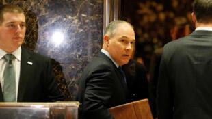 Donald Trump ha nombrado a Scott Pruitt como director de la Agencia de Protección Medioambiental (EPA).