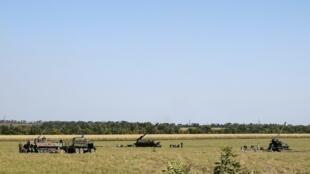 Луганская область август 2014 год.