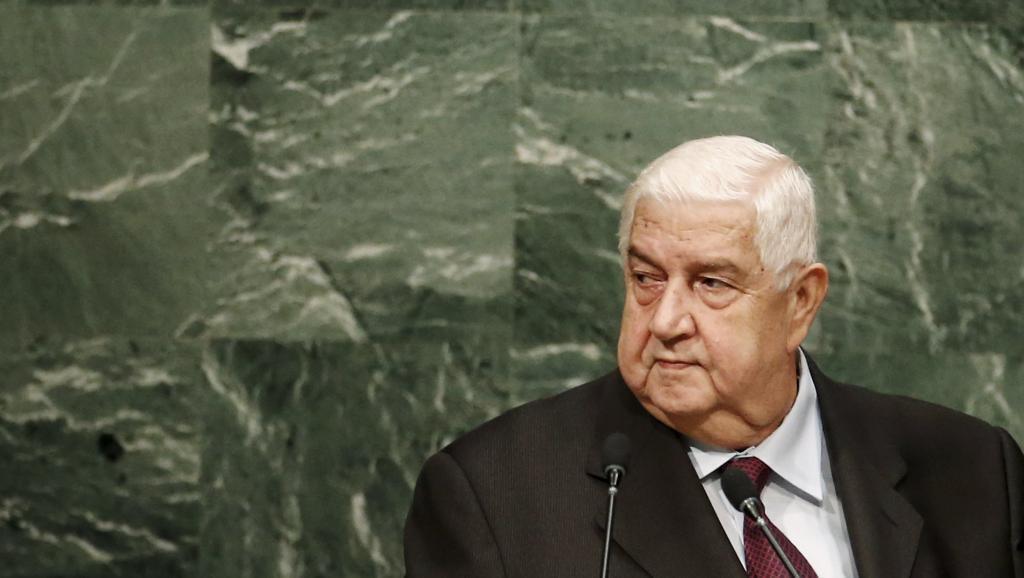 Walid Muallem, Ministro dos Negócios Estrangeiros da Síria
