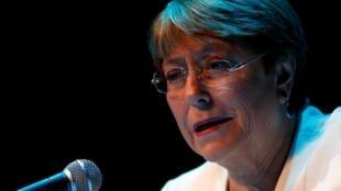 Dans son rapport, Michelle Bachelet, qui s'est rendue au Venezuela il y a deux semaines, dénonce les disparitions forcées et les arrestations des voix critiques du régime de Maduro.