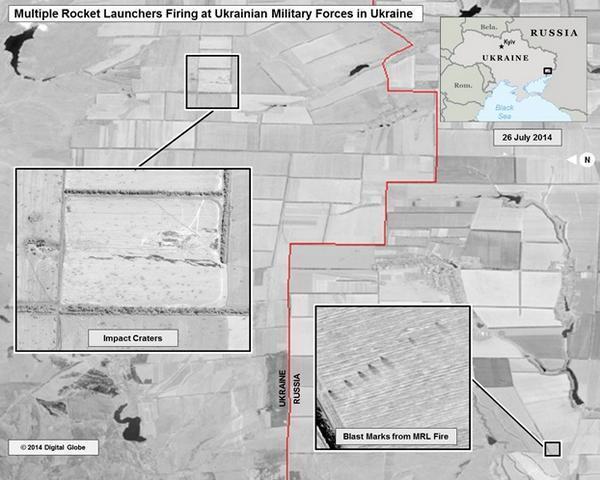 Обстрелы украинской территории со стороны России